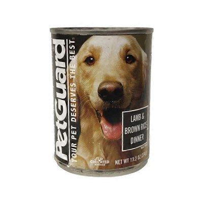 PetGuard Canned Lamb & Brown Rice Adult Dog Food