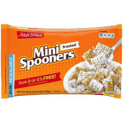Malt-O-Meal Frosted Mini Spooners