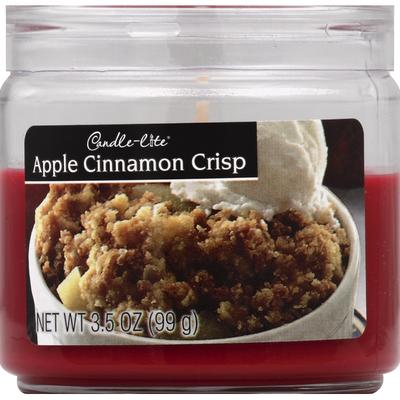 Candle-Lite Candle, Apple Cinnamon Crisp