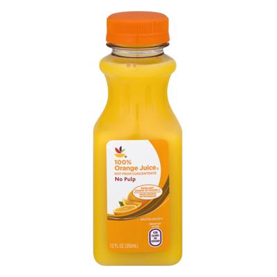 SB 100% Orange Juice No Pulp