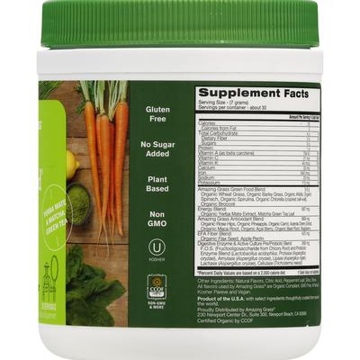 Amazing Grass Green Superfood, Lemon-Lime Flavor, Energy
