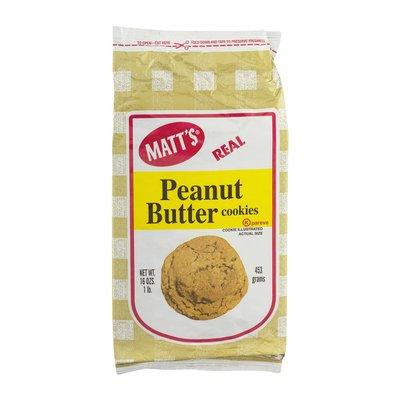 Matt's Peanut Butter Cookies