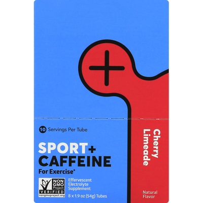 Nuun Sport + Caffeine, Cherry Limeade
