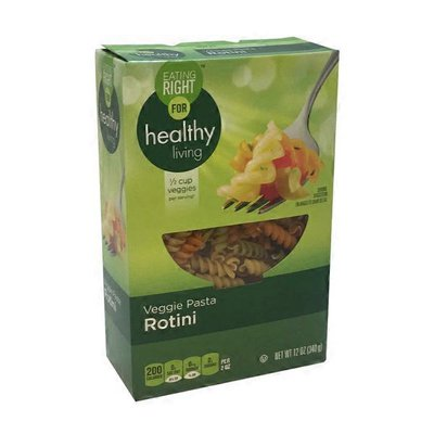 Eating Right For Healthy Living Veggie Pasta With Durum Whe At Rotini
