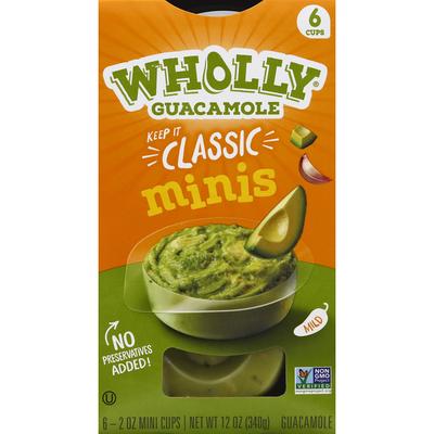 Wholly Guacamole Classic Guacamole Minis