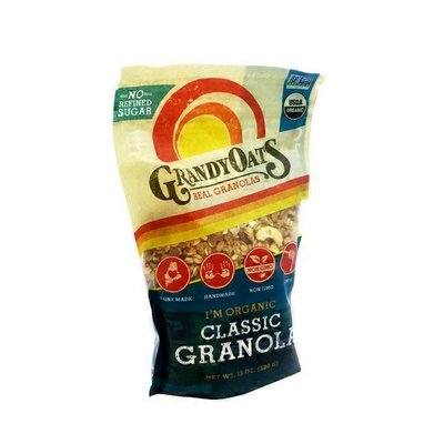 Grandy Oats Organic Classic Granola