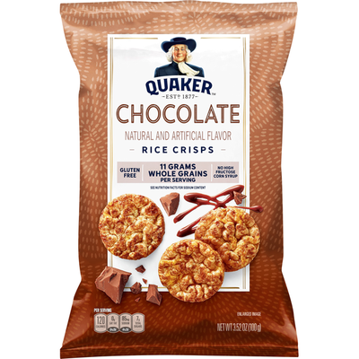 Quaker Chocolate Rice Crisps