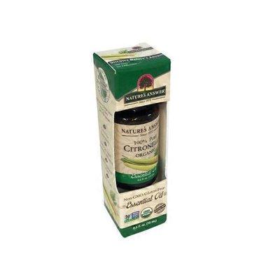 Nature's Answer 100% Pure Citronella Organic Essential Oil