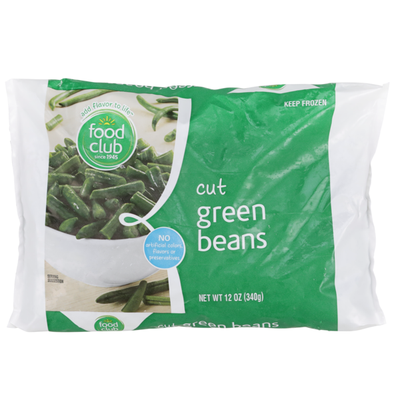 Food Club Cut Green Beans