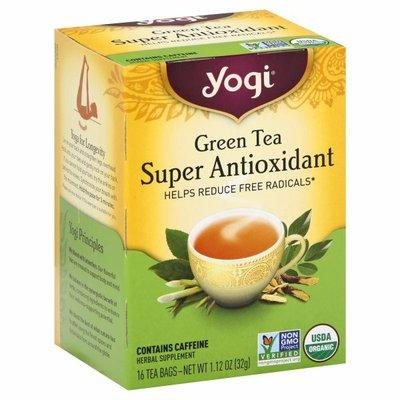 Yogi Tea Green Tea, Green Tea Super Antioxidant Tea, Helps Reduce Free Radicals