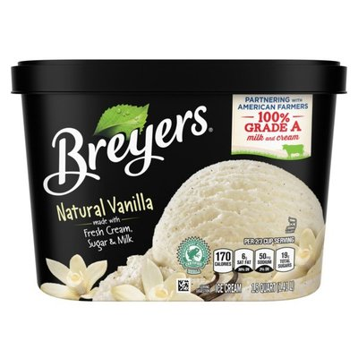 Breyers Ice Cream Natural Vanilla