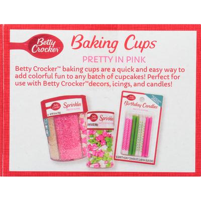 Betty Crocker Baking Cups, Pretty in Pink