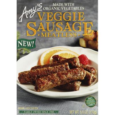 Amy's Kitchen Veggie Sausage, Meatless