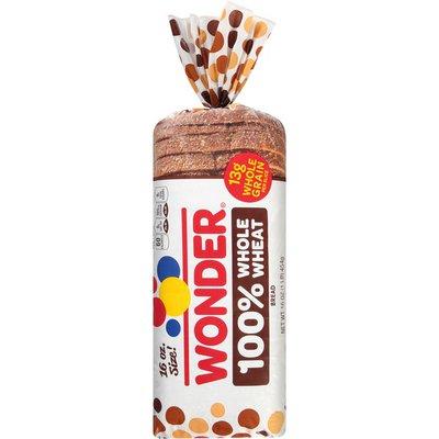 Wonder Bread Small 100% Whole Wheat Bread