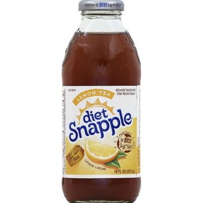 Snapple Green & Black Tea, Lemon Tea, Diet