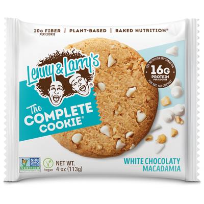 Lenny & Larry's The Complete Cookie- White Chocolaty Macadamia