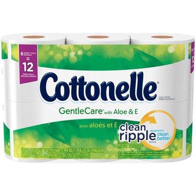Cottonelle GentleCare with Aloe & Vitamin E Double Roll Toilet Paper