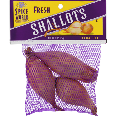 Spice World Fresh Shallots