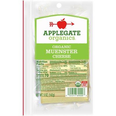 Applegate Organic Muenster Cheese