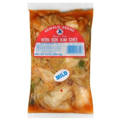 Kewalo Won Bok Kim Chee, Mild
