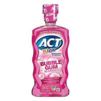 ACT Fluoride Rinse, Anticavity, Bubble Gum Blowout