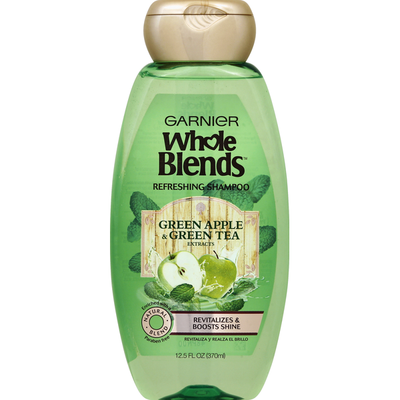 Whole Blends Shampoo, Refreshing, Green Apple & Green Tea Extracts