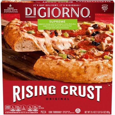 DiGiorno Supreme Frozen Pizza on a Rising Crust