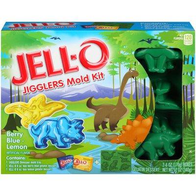 Jell-O Jigglers Berry Blue & Lemon Zoo Mold Kit