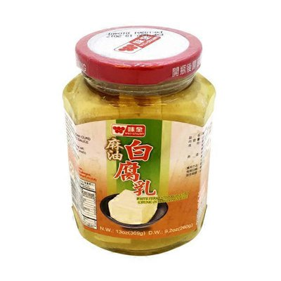Wei Chuan White Fermented Bean Curd in Seasoning