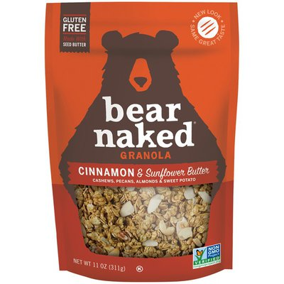 Bear Naked Cinnamon & Sunflower Butter Bear Naked Cinnamon & Sunflower Butter Granola