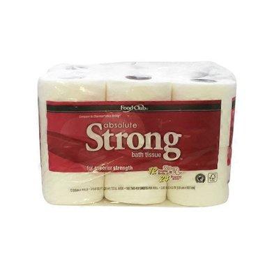 Food Club Bath Tissue Absolute Stro