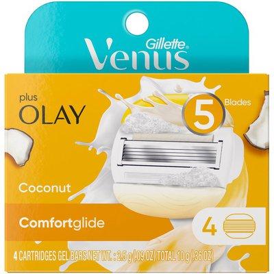Venus Comfortglide Plus Olay Coconut Women'S Razor Blade Refills