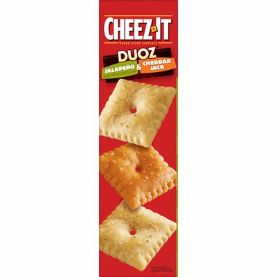 Cheez-It Crackers, Baked Snack Crackers, Jalapeno Cheddar Jack