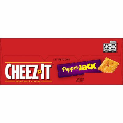 Cheez-It Cheese Crackers, Baked Snack Crackers, Pepper Jack