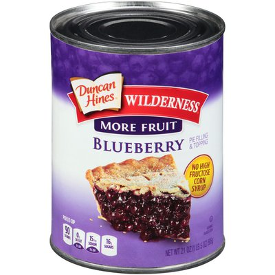 Duncan Hines Blueberry Pie Filling & Topping