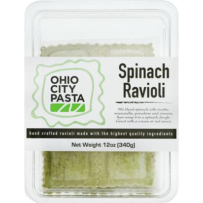 Ohio City Pasta Ravioli, Spinach