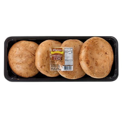 Wegmans Food You Feel Good About Portabella Mushroom Caps, FAMILY PACK