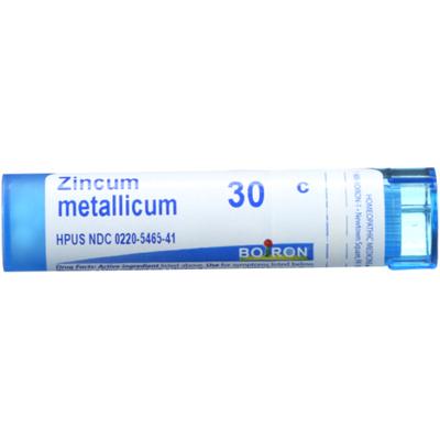 Boiron Zincum Metallicum 30C, Homeopathic Medicine for Leg Cramps