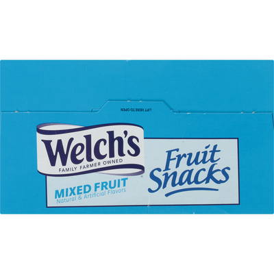Welch's Fruit Snacks, Mixed Fruit, Family Size