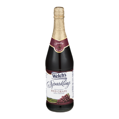 Welch's Sparkling Non-Alcoholic Red Grape Juice Cocktail