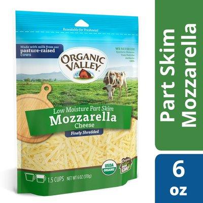 Organic Valley Organic Finely Shredded Mozzarella Cheese