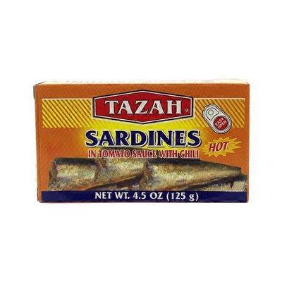 Tazah Hot Sardine In Tomato Sauce