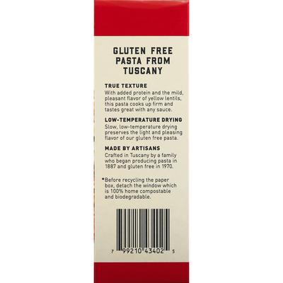 bionaturae Rice & Lentil Pasta, Gluten Free, Fusilli