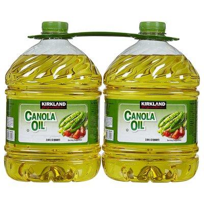 Kirkland Signature Canola Oil, 2 x 3 qt