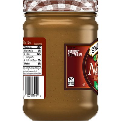Smucker's Natural Peanut Butter Chunky