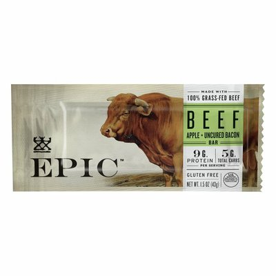 Epic Beef, Apple + Uncured Bacon, Bar