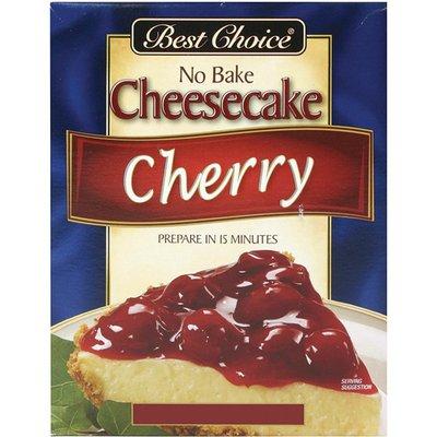 Best Choice Cherry No Bake Cheesecake Mix