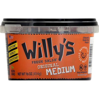 Willy's Salsa, Original, Medium