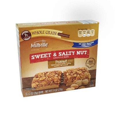 Millville Peanut Sweet & Salty Bars