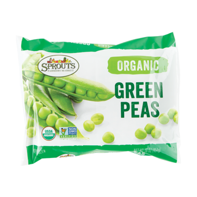 Sprouts Organic Green Peas